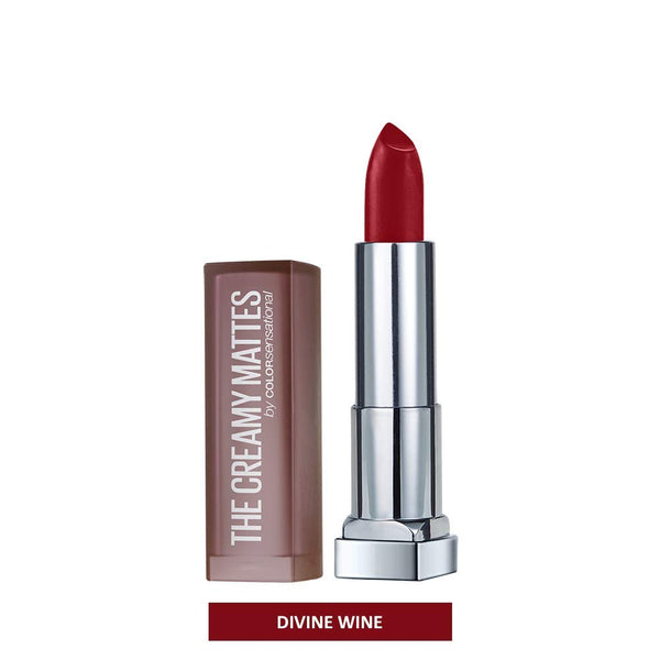 Maybelline New York Color Sensational Red Lipstick, Satin Lipstick, Very Cherry, 0.15 oz