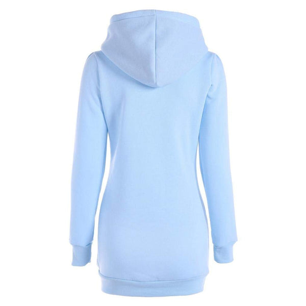 High Collar Long Style Slim Pullover T Shirt Long Sleeve Blouse