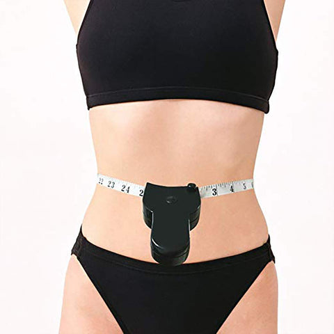 Measure Tape Waist Body Tape Measure Measuring Waist and Arms Black