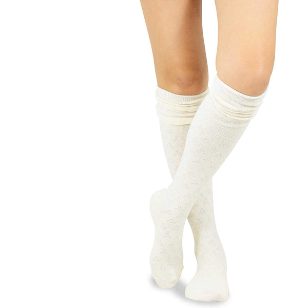 TeeHee Women's Fashion Over the Knee High Socks - 3 Pair Combo