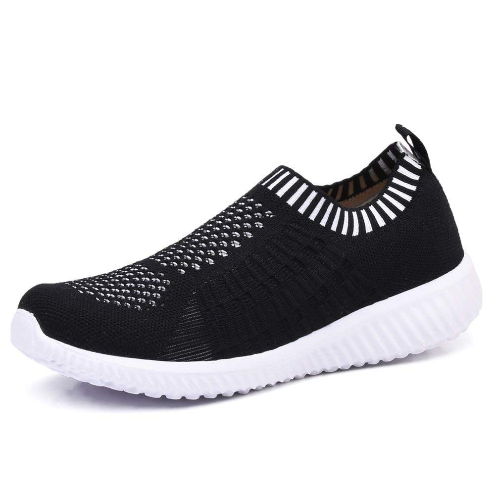 Women's Athletic Walking Shoes Casual Mesh-Comfortable Work Sneakers