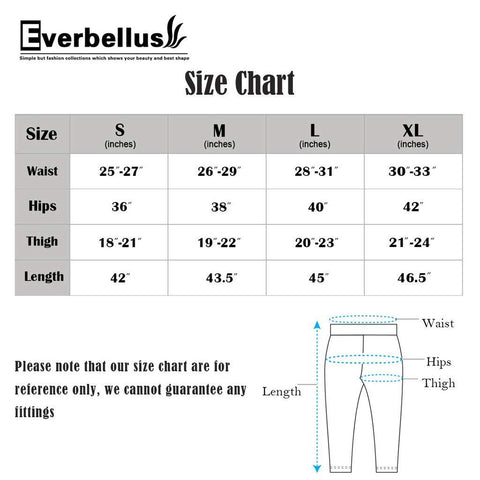 Everbellus Sexy Womens Faux Leather High Waisted Leggings