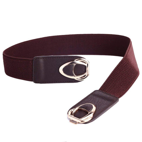 Elastic Stretch Cinch Plus Fashion Dress Belts for ladies.