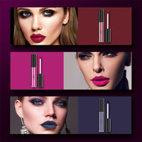 Anjou 6 Colors Matte Liquid Lipstick Set, Long Lasting Creamy Waterproof Lip Gloss, All-Day Smudge Proof Makeup