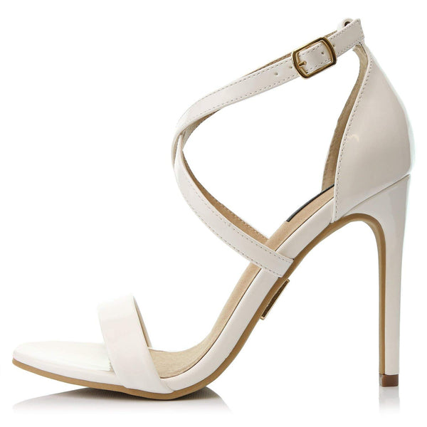 High Heel Sandal Open Toe Ankle Buckle Cross Strap Platform Pump Evening Dress Casual Party Shoes