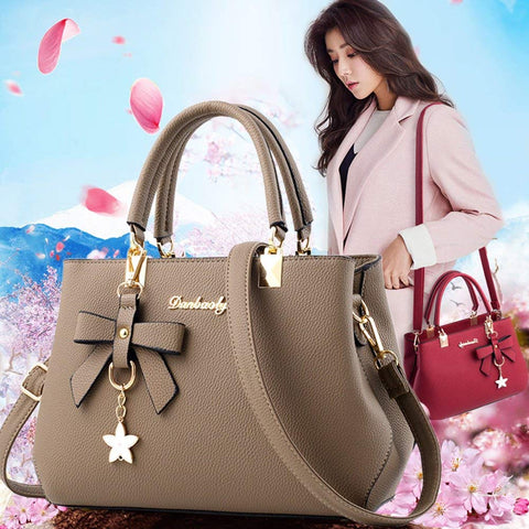 Handbags Fashion Handbags for Women PU Leather Shoulder Bags Messenger Tote Bags