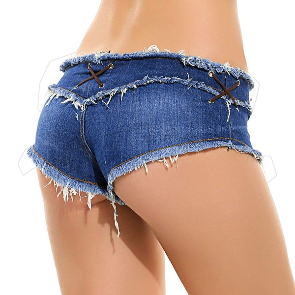 Waist Sexy Micro Jeans Hot Pants for Woman Girls Teen…