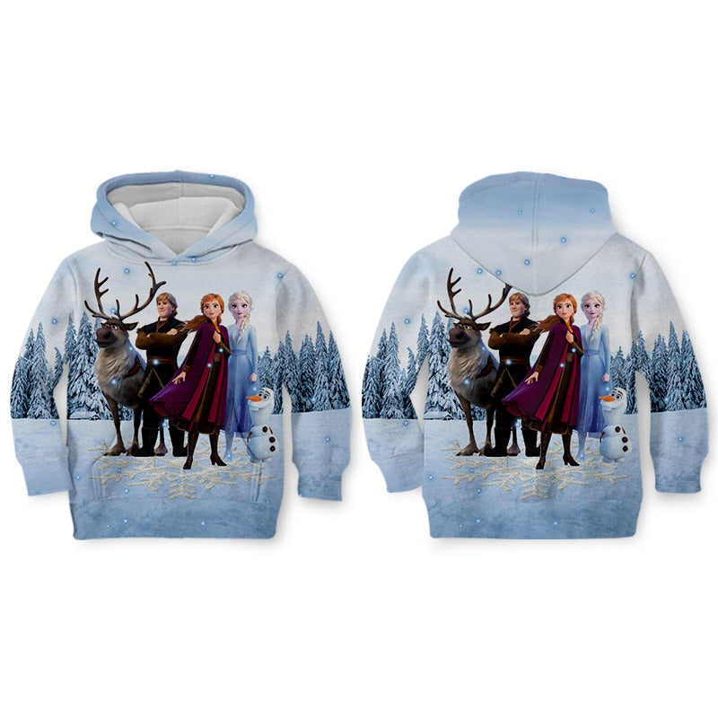 Cartoon FROZEN 2 Jacket