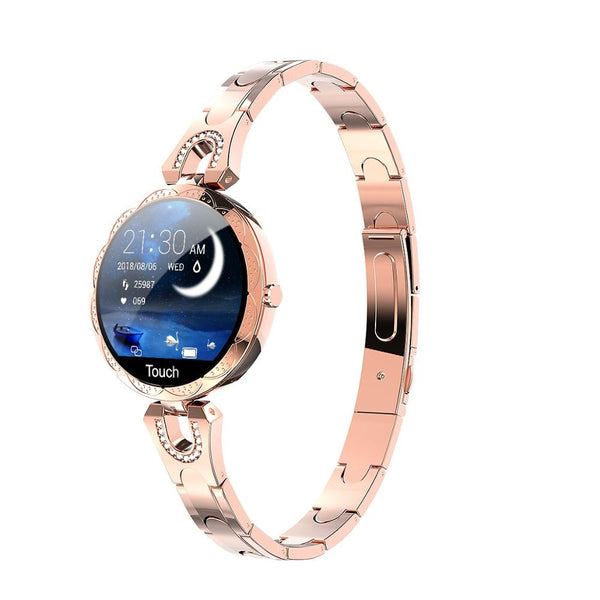Waterproof Heart Rate Blood Pressure Monitor Smartwatch Gift For her.