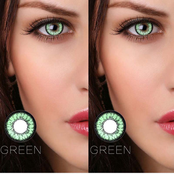 Honey Series Cosmetic Contact Lenses Eye Color