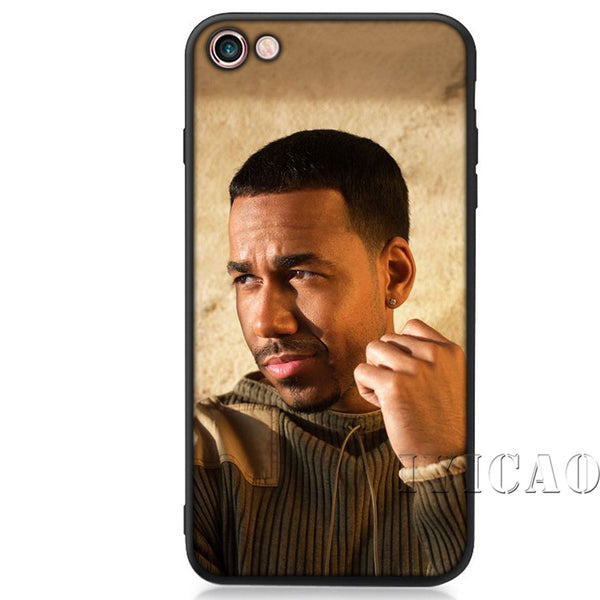 Latin singer Romeo Santos Soft Silicon for iPhone Cover.