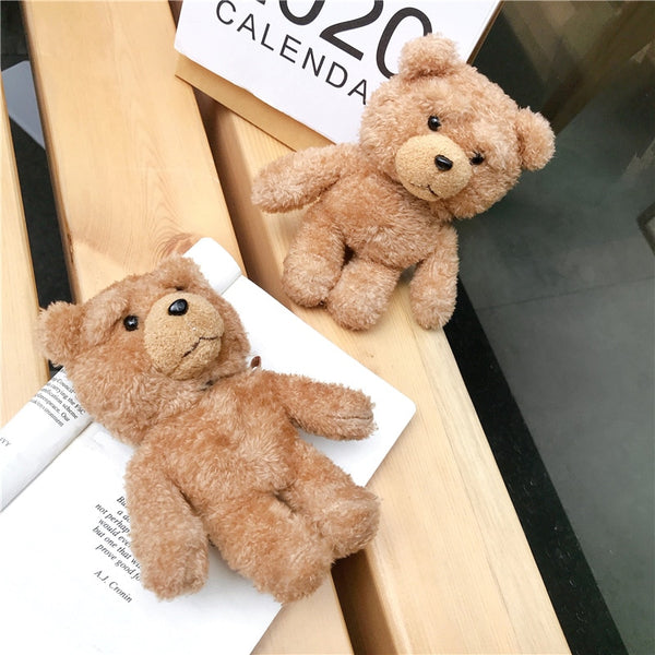 Teddy Plush For AirPods Case Wireless Bluetooth Cover For Apple AirPod 2 1 Case Accessories Charging Box For Air pods C1847 h