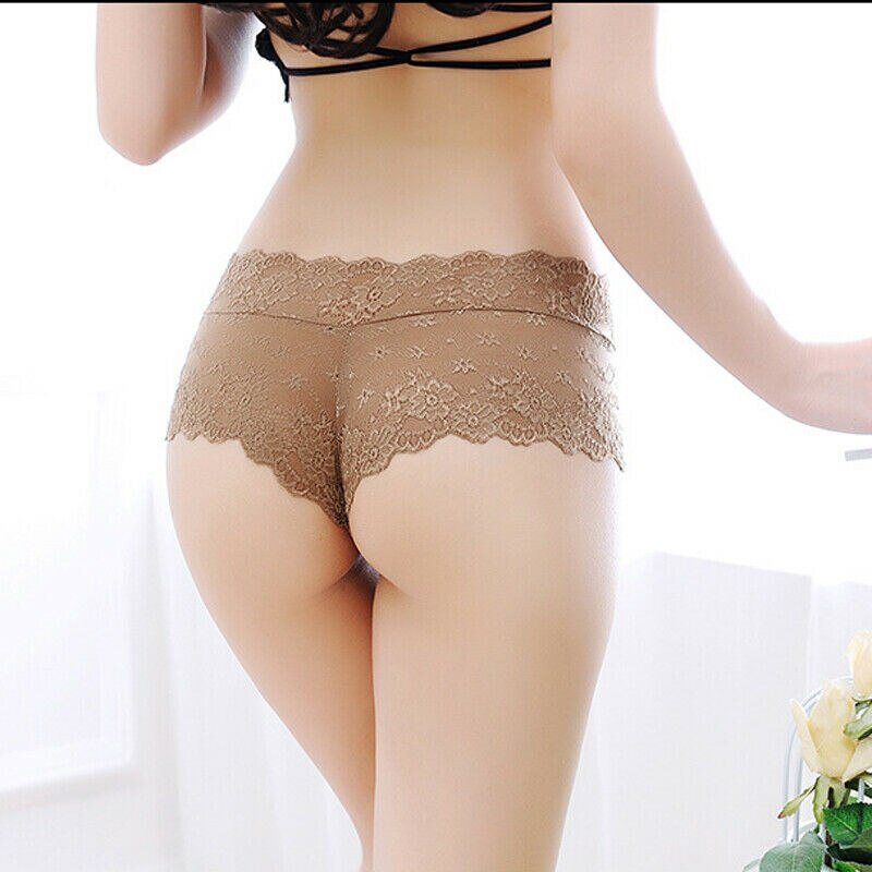 Sexy Lingerie Lace Shorts Erotic Panties.