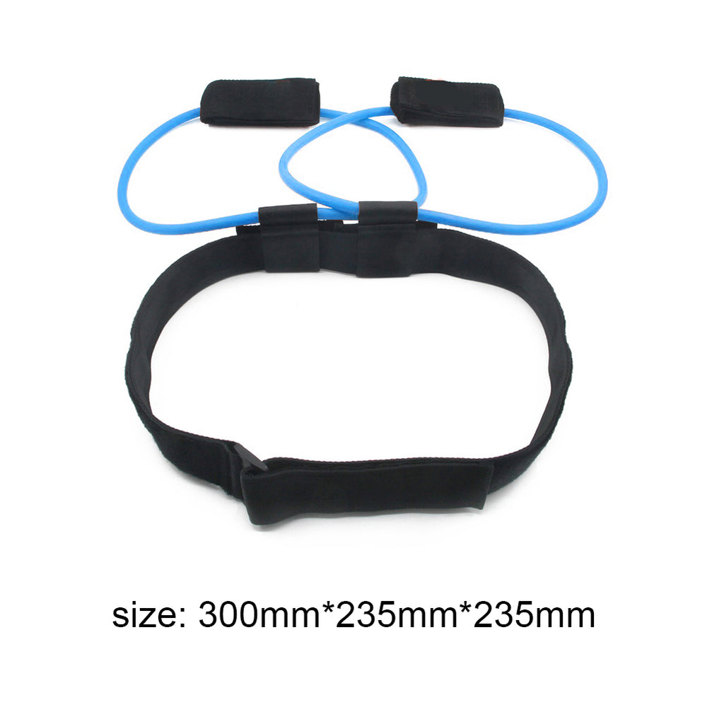 Resistance Band Latex Elastic Pull Rope Foot Pedal Exerciser.