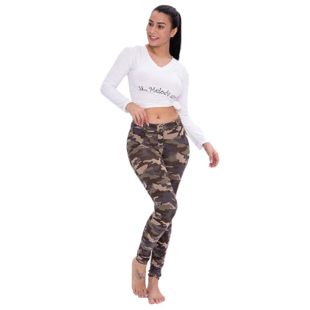 New Camouflage Fitness Elastic Leggings.