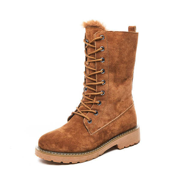 Women's Genuine Leather Winter snow boots