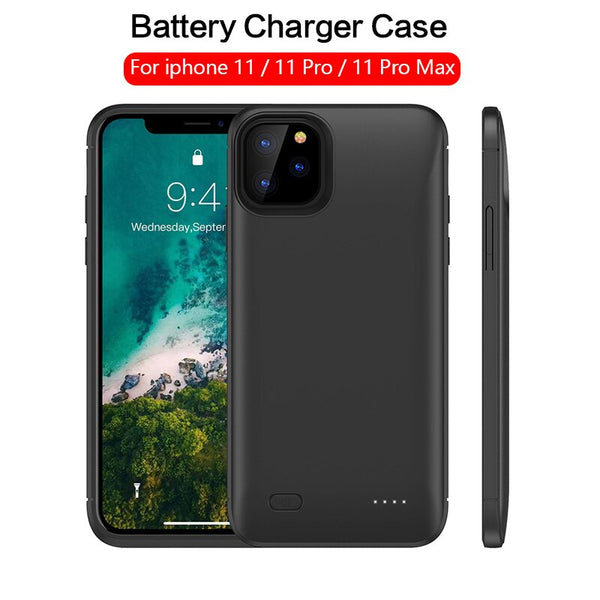 5200mAh Battery charger Case For iPhone 11 11 Pro Phone Power Bank 6200mAH Battery Case For iPhone 11 Pro Max Charging Cover