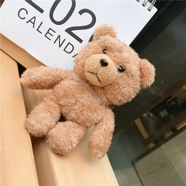 Teddy Plush For AirPods Case Wireless Bluetooth Cover For Apple AirPod 2 1 Case.