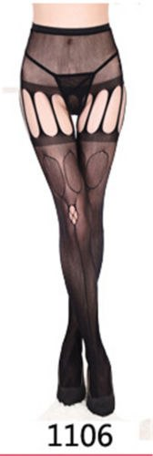 Hot 11 Styles Sexy Thigh High Stockings Women Black Fishnet Jacquard Stocking Pantyhose Tights Adult Women Plus Size