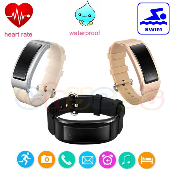 Bracelet with Heart Rate Monitor Swimming Tracker