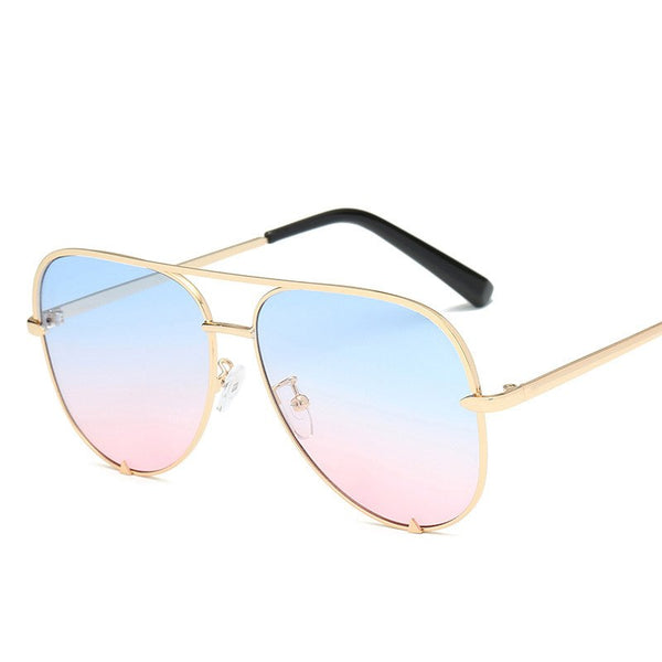 Sunglasses Women Shades Aviation Pilot Sunglass Female