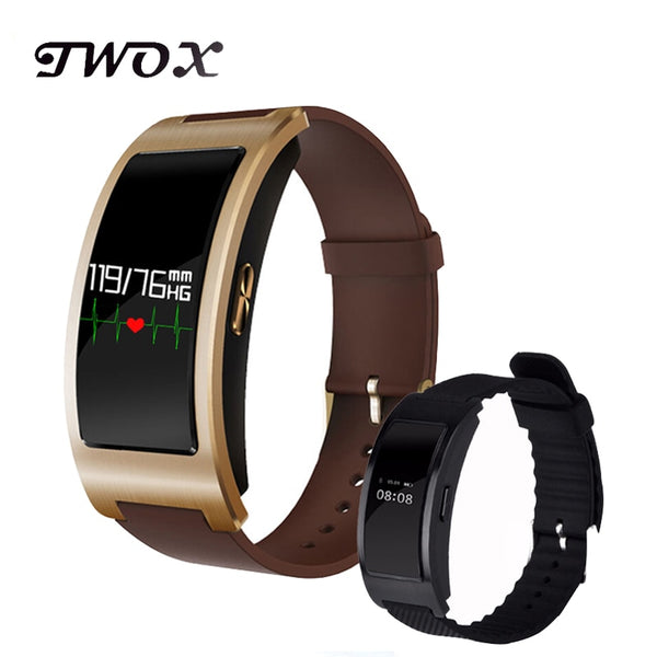 Blood Pressure Heart Rate Monitor Fitness Tracker Bluetooth Watch Android PkXiaomi band Fit bits