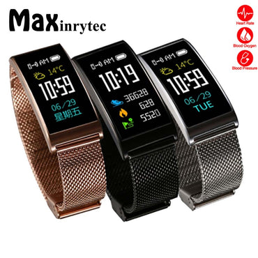 Smart Watch IP68 Waterproof  Heart Rate Tracker Smartband Fitness Monitor