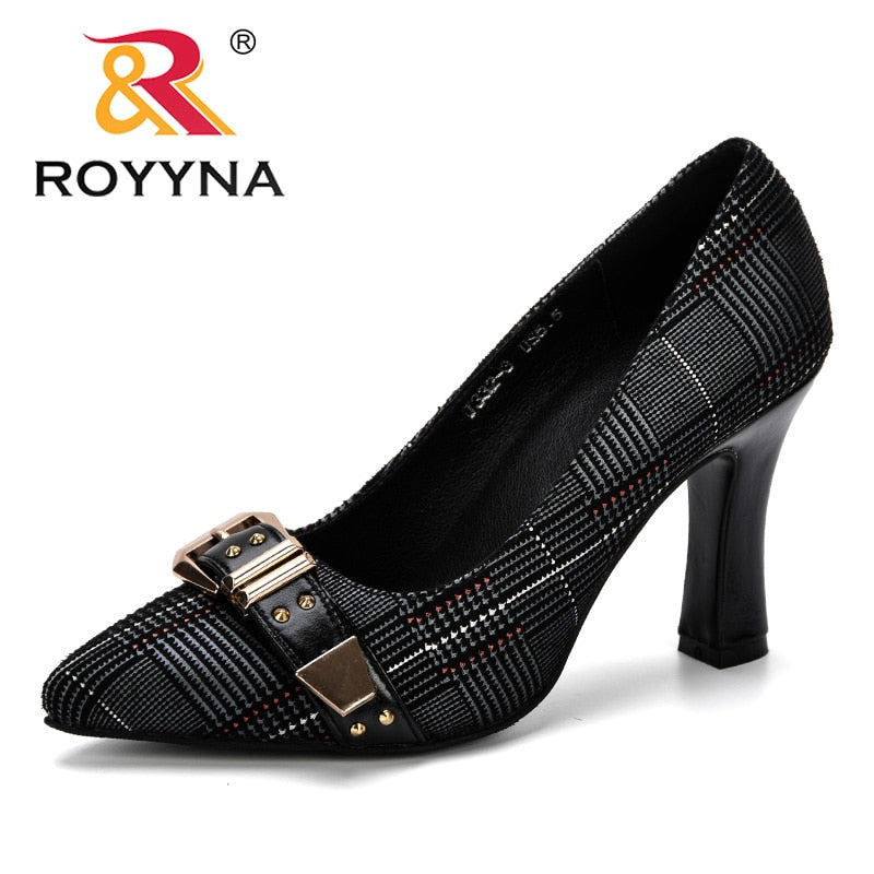 Women high heel Pumps Spring & Autumn Plus Size.Fashion Elegant Pointed.