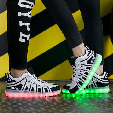 Lighting Shoes couple illuminated Luminous Sneaker