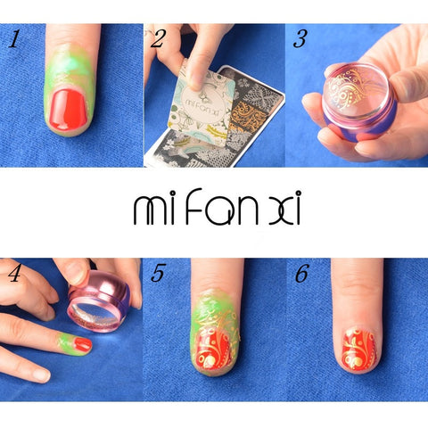 Nail Plate Printing Polish Nail Art Decoration
