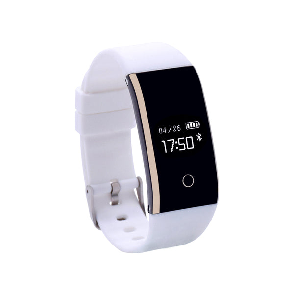 Blood Pressure heart rate monitor Sport Wristband for Smartphone Pk Fit Bit Mi Band 2