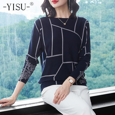 Sweater Long Sleeve Jumpers Knitwear Pullovers high quality Knitted sweaters