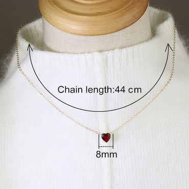 Crystal Pendants Choker Necklaces Alloy Link Chain Fashion New Jewelry