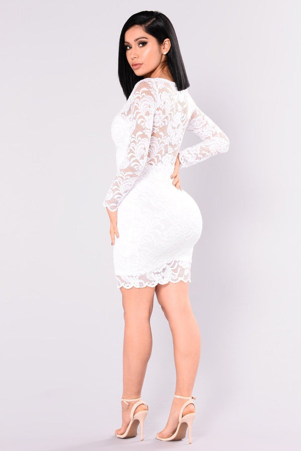 Sexy Lace Patchwork Mini Dress Women Casual Long Sleeve O Neck See Through Bodycon Women Dress Elegant Party Dresses Vestidos