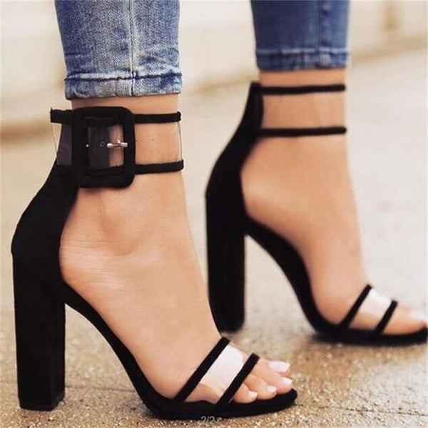 2018 shoes Women Summer Shoes T-stage Fashion Dancing High Heel Sandals Sexy Stiletto Party Wedding Shoes White Black 569ui