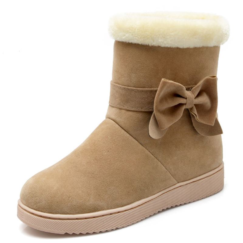 Casual Boots Winter Fashion Sweet Shoes.