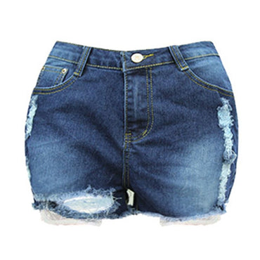 Casual Pocket Jeans Shorts Plus Size Girl Hot Shorts Sexy and Charming