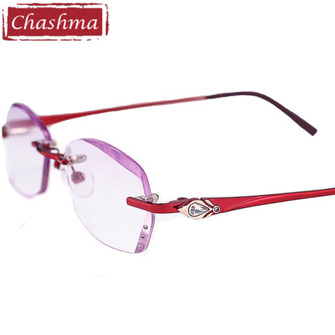 Rimless Tint Colored Lenses Read Glasses 1.5, 2.0, 2.5, 3.0, 3.5