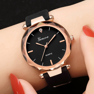 Wrist Watch relogio feminino Silicone Strap Ladies Dress