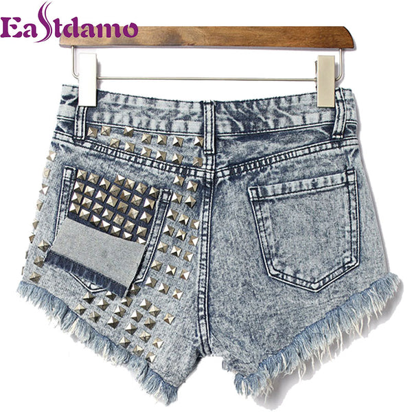 Denim Shorts Plus Size Short Trousers Women Clothing