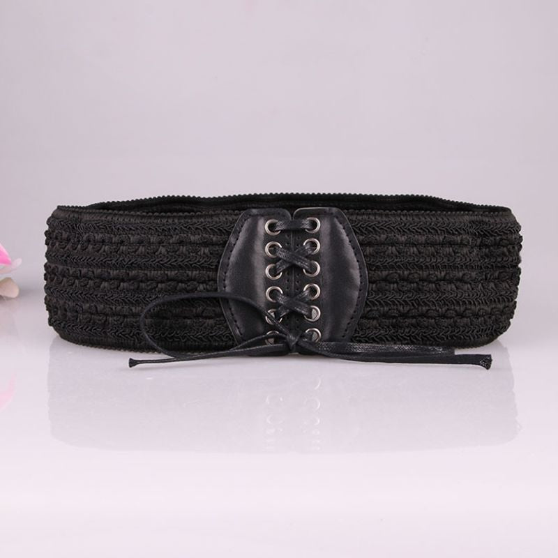 stretchy strap elegant waist belts for female dress women waistband