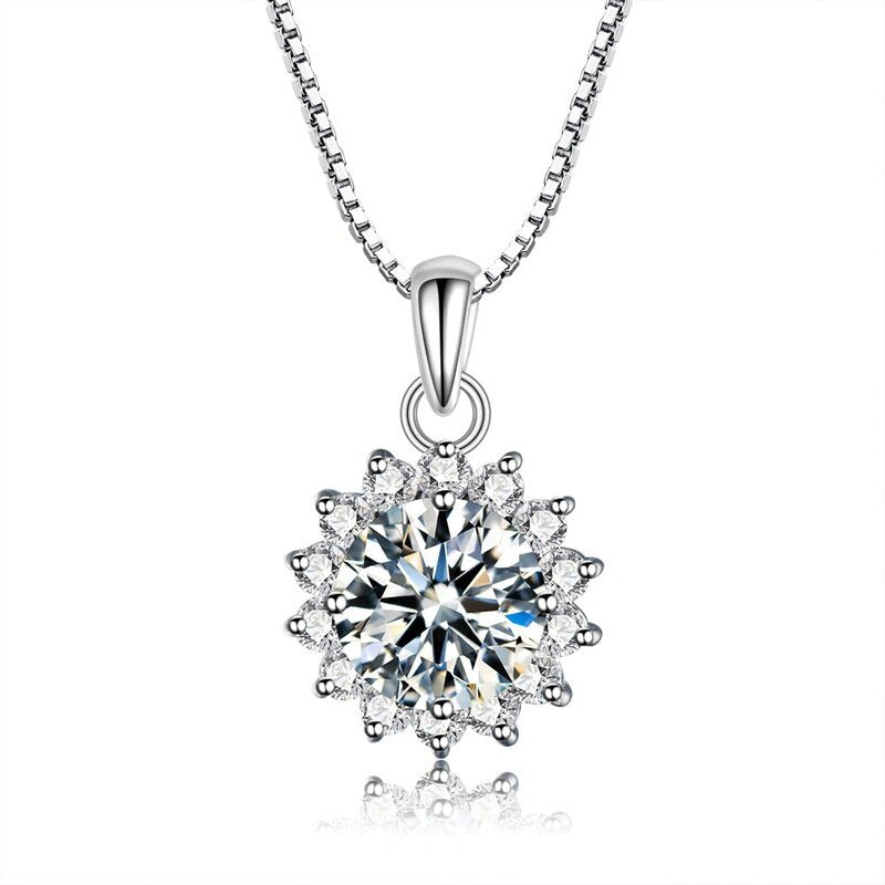 1 pcs High quality Zircon Snowflake Pendants.