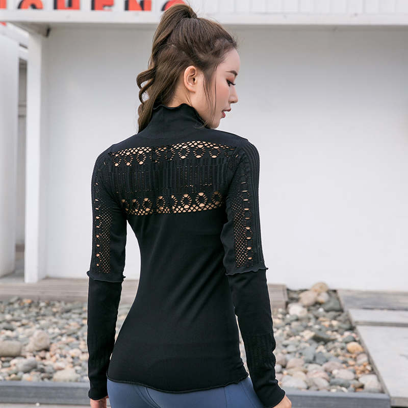 Long Sleeve Sports Top Fitness Yoga Shirt.