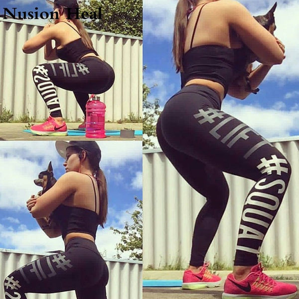 Tights Sportswear Woman Gym Yoga Pants Sports Seamless Sport Leggings Leggins For Fitness Compression Solid Slim Running Clothes