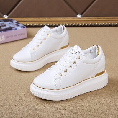 Hidden Heels Women Platform Wedge Sneakers