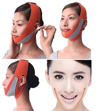 Facial Thin Masseter Double Chin Skin Thin Face Bandage Bel