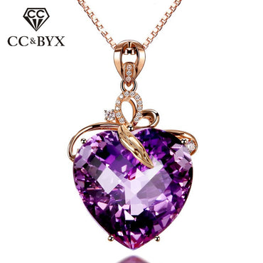 Cubic Zirconia Vintage Jewelry Bridal Wedding Engagement Necklace