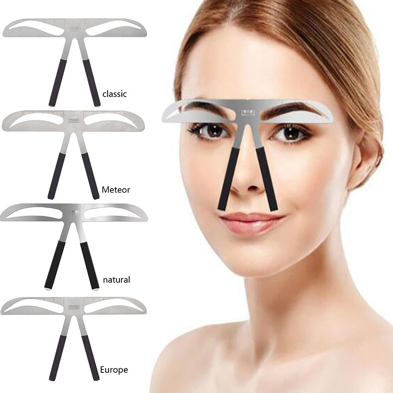 Eyebrow Balance Ruler Metal Tattoo Shaping.