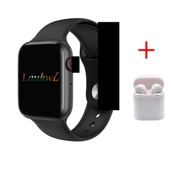 Bluetooth call smartwatch W34 44MM ECG Heart Rate Monitor smart watches men women for apple iphone huawei xiaomi pk IWO 8 IWO 9