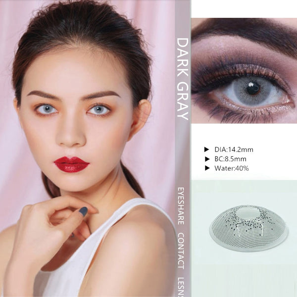 Ocean color contact Lenses cosmetic. { Eye Color } (2pcs)